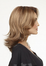 Mistletoe Wig : Side View :  Natural Collection