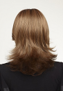 Mistletoe Wig : Back View :  Natural Collection