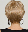 Dahlia Wig By Natural Collection: Back View