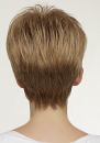 Pansy Wig By Natural Collection: Back View