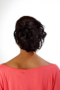 Curly Palm Wig By Natural Image: Back View