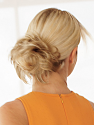 Pouf Wrap By Natural Image: Back View