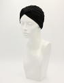 Black Bamboo Turban