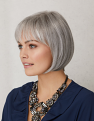 Heaven Wig from the other side in new colour Pewter Glow