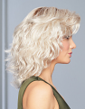 Curl Up Wig by Gabor in GL23-101SS Sunkissed Beige from the side