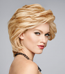 Applause Wig from the side in R14/88H Golden Wheat