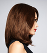 Beguile Human Hair Wig by Raquel Welch from the side