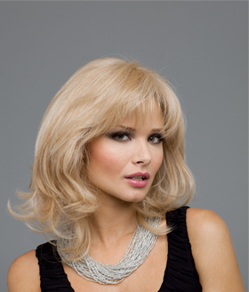 Heather Human Hair Blend Wig By Natural Collection
