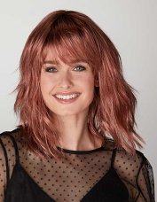 Coming Up Rosy Wig by Natural Image