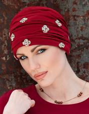 Jewel Turban by Masumi