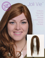 """Joli Vie 13-18"""" Human Hair Wig with Lace Front"""